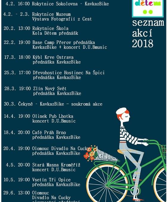 Tour Kola Dětem 2018